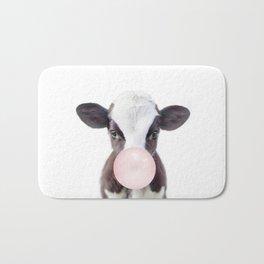 Bubble Gum Baby Cow Bath Mat