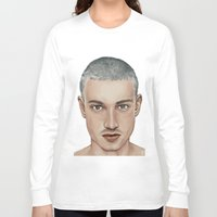 boy Long Sleeve T-shirts featuring BOY by Laura O'Connor