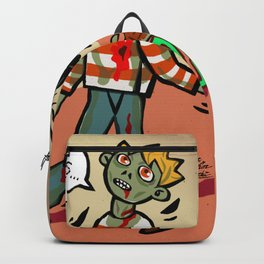 Zombie boy Backpack