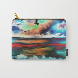 Ocean Galore Carry-All Pouch