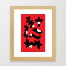 Dungeons and Dice Framed Art Print