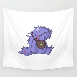 Cute Plush Dino Wall Tapestry