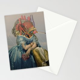 Another Portrait Disaster · the queen of flesh Stationery Cards