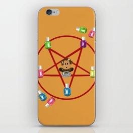 666 Blows iPhone Skin