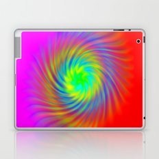 Rainbow swirl Laptop & iPad Skin
