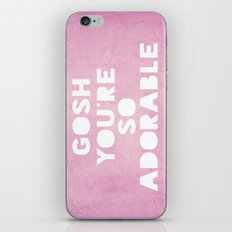 Gosh, Adorable iPhone & iPod Skin