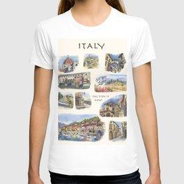 Italy - Art Print T-shirt