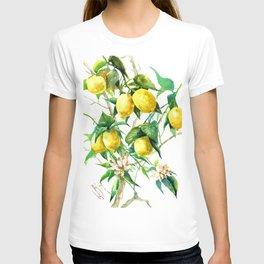 Lemon Tree. lemons kitchen art T-shirt