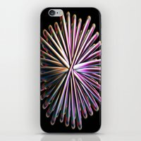 the wire iPhone & iPod Skins featuring Wire Circle by Brian Raggatt