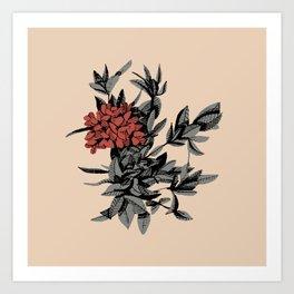 Floral Thyme Art Print