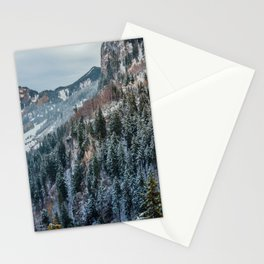 Forest - Bavarian alps Stationery Cards