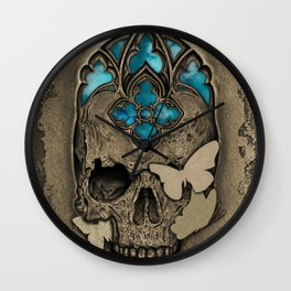 There's Beauty in Destruction Wall Clock
