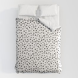 Tiny Doodle Dots Comforters
