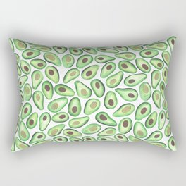 Is This Enough Avocados? - by Rachel Whitehurst Rectangular Pillow