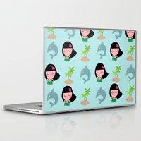 hawaii Laptop & iPad Skins featuring hawaii by Sucoco