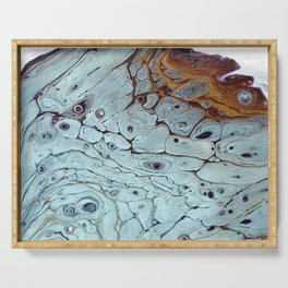 Woody Burl  Serving Tray