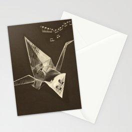 Sheet Music Crane Stationery Cards