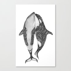 Killer Whales? Canvas Print