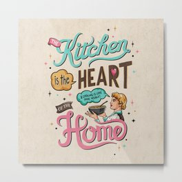 The Heart Of The Home Metal Print