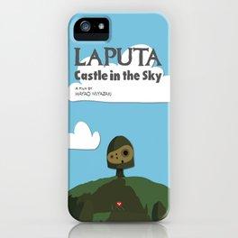 Laputa Castle in the Sky iPhone Case