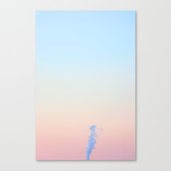 candy cotton I. Canvas Print