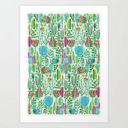 ramdom wild Art Print