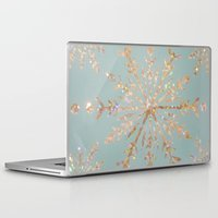 crystal Laptop & iPad Skins featuring Crystal by Françoise Reina
