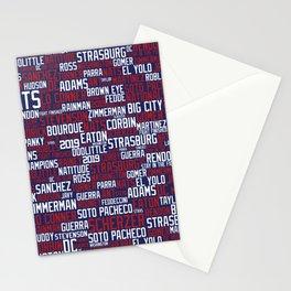 NAT CITY (Blue) Stationery Cards
