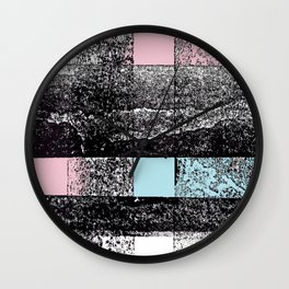 Analytical Geometry. A look at Russian Constructivism Wall Clock