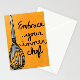 Embrace Your Inner Chef Stationery Cards