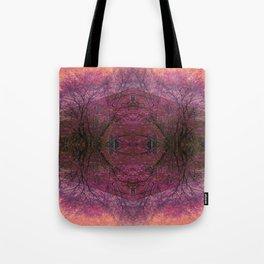 Rose Glass Tote Bag