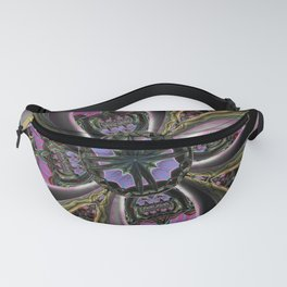 Diving into magic, fractal abstract Fanny Pack