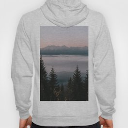 Faraway Mountains - Landscape and Nature Photography Hoody