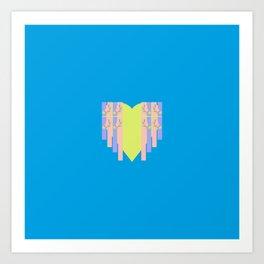 17 E=Hearty4 Art Print