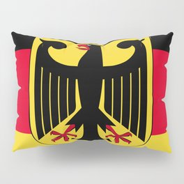 Germany flag emblem Pillow Sham