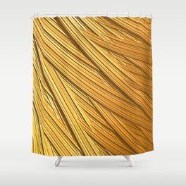 Sun-kissed Straw Shower Curtain