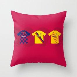 Barcelona Kits 2019/2020 Throw Pillow