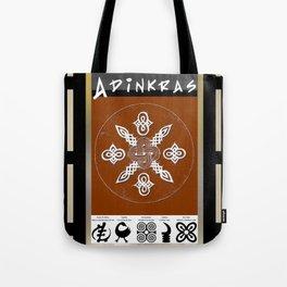 Adinkra Symbol Tote Bag Tote Bag