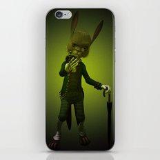 Hare o' Clock iPhone Skin
