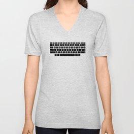 Captain's Keyboard Unisex V-Neck