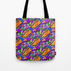 The Big O (Drip Porn Pattern) Tote Bag