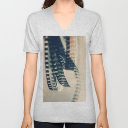 super 8 film Unisex V-Neck