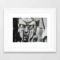 gladiator Framed Art Prints featuring Gladiator  by Jimmy chard