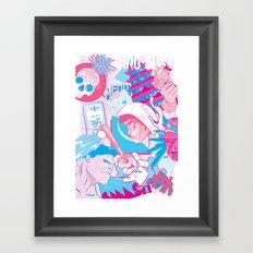 Benny & Friends Framed Art Print