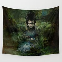 chinese Wall Tapestries featuring Chinese shade by Ganech joe