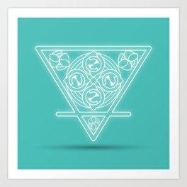 Earth element Art Print