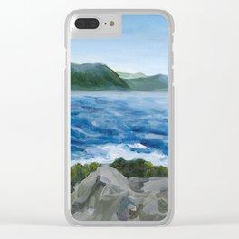 Gros Morne -- Ocean Clear iPhone Case