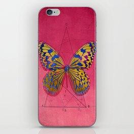 pāpĭlĭo gĕōmētrĭcus  B iPhone Skin