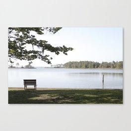 Bench. Canvas Print