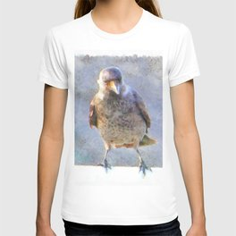 Jackdaw Watercolor T-shirt